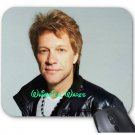 Jon Bon Jovi Custom Mouse Pad Round or Square NEW