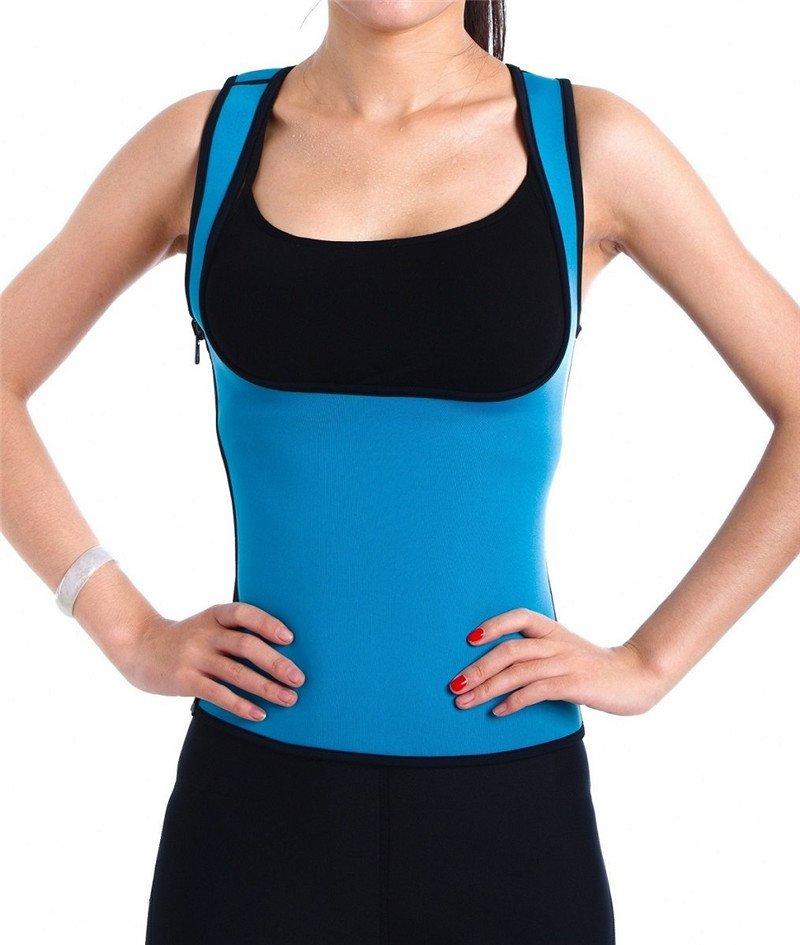 2017 Hot Sexy Waist Trainer Corsets for Sweat Vest Neoprene Top Body Shaper