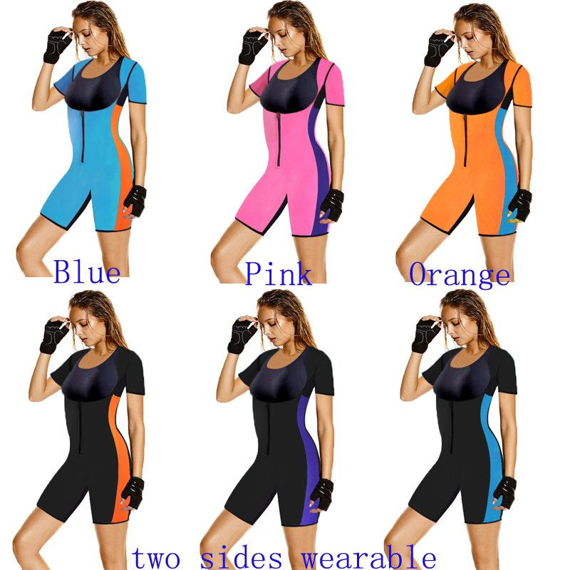 Women Neoprene Shapers Waist Trainer Slimming Underwear Body Shaper Bodysuit New