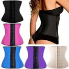 Latex Waist Trainer Women Waist Cincher Shaper Slim Shapers Latex Body Corset