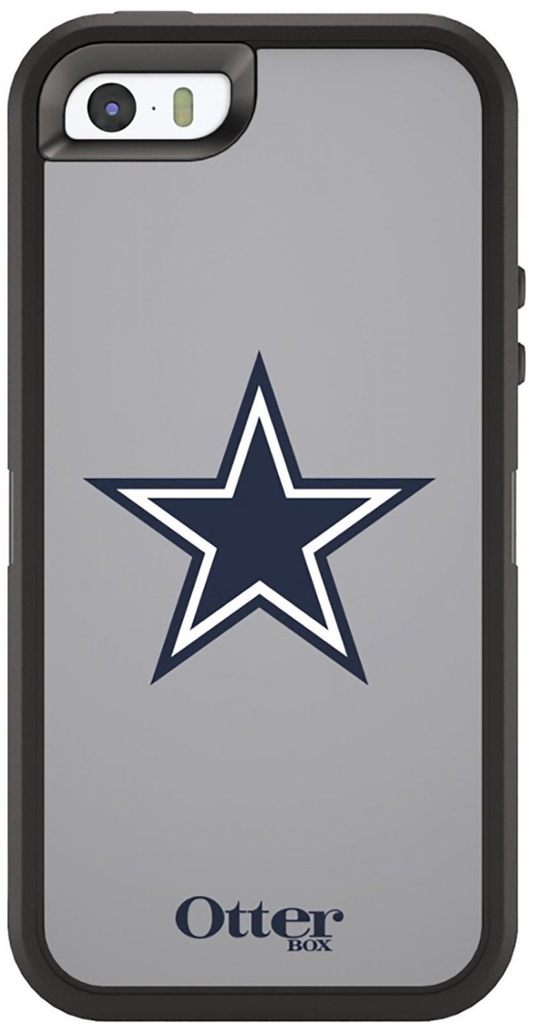 OtterBox Defender NFL Series Case for Apple iPhone 5 / 5s / SE + Holster - New