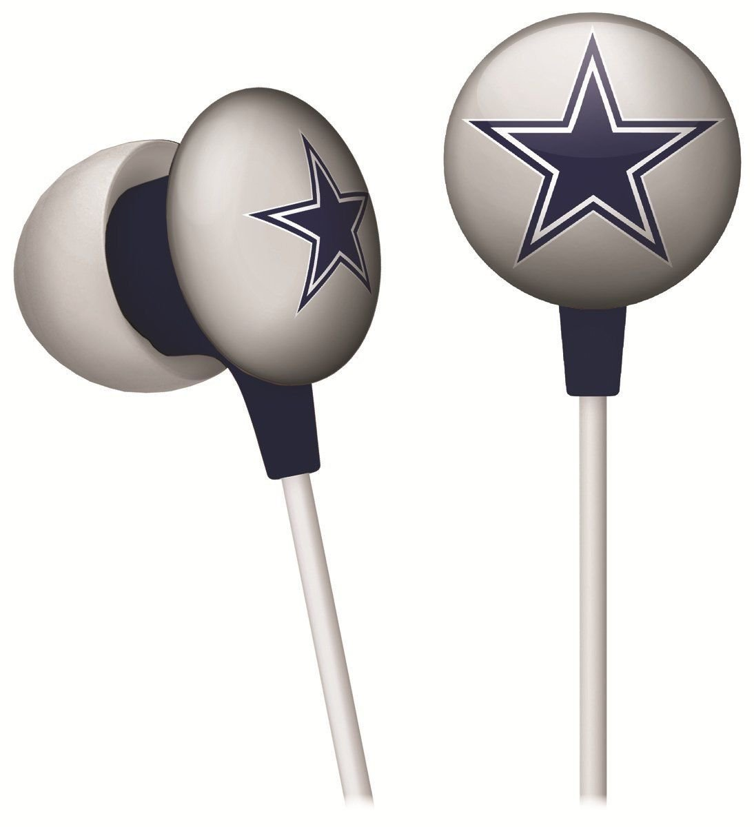 COWBOYS NFL Football IHIP Ear Buds - Pick Your Team
