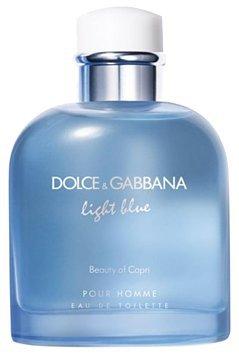 DOLCE & GABBANA Light Blue Pour Homme Beauty of Capri 4.2 oz
