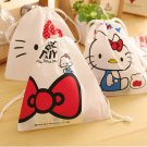 Hello Kitty Kawaii Storage Bag Cosmetic Makeup Travel Toy Organizer Necessaire