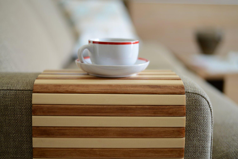 Couch Tray Table Sofa Tray Table Sofa Arm Trayarmrest Traysofa Arm Table