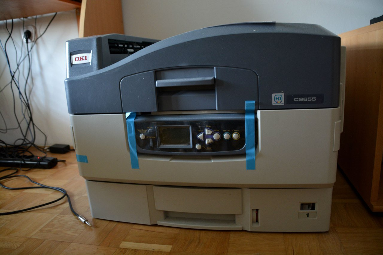 Laser printer OKI C9655DN