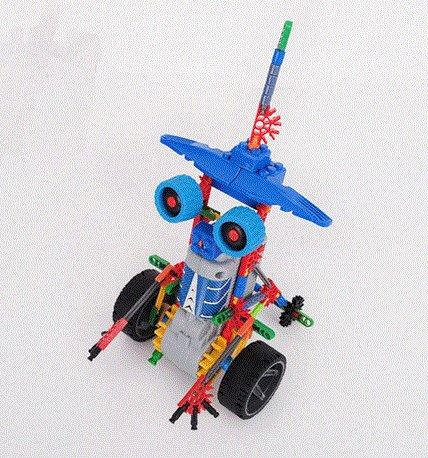 LOZ 3013 Robotic Warrior, DIY Toy,  Robotic Toy,  Educational Toy, Electronic Toy,Building Block Toy