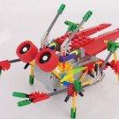 LOZ 3014  Robotic Cicada , DIY Toy,  Robotic Toy,  Electronic Toy,Building Block Toy