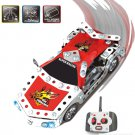 DIY Remote Control Car, Iron 816D-5,Educational Toy, Electronic Toy,Building Block Set Toy