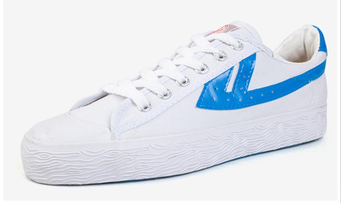 Warrior Bai-classic Wushu KungFu Shoes Sneakers Canvas/Martial Shoes Size Eur 37