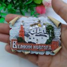 3D Resin World Tourism Souvenir Fridge Magnet - Russia Moscow Moscow