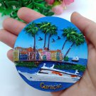 3D Resin World Tourism Souvenir Fridge Magnet - Curacao