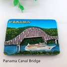 3D Resin World Tourism Souvenir Fridge Magnet - Panama Canal Bridge