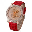 Women's Watch Diamante Butterflies Pattern Dial Cool Watches Unique Watches #00768488