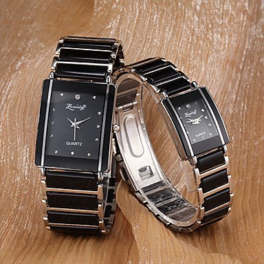 Women�s Watch Rectangle Dial Alloy Band One Pair Cool Watches Unique Watches #00567651