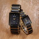 Women's Watch Rectangle Dial Alloy Band One Pair Cool Watches Unique Watches #00567651