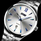 SKMEI® Men's Dress Watch Japanese Quartz Calendar/Water Resistant Stainless Steel