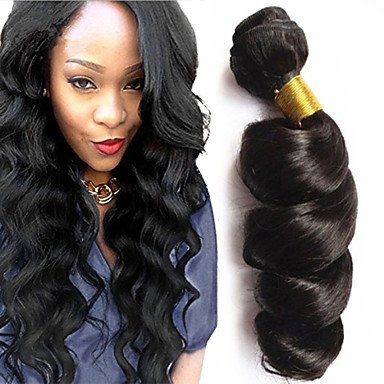 16 INCHES Brazilian Virgin Remy Hair Loose Wave 3Pcs Lot Grade8A Natural Color
