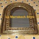 Moroccan Brass Mirror - Wall Brass Mirror - Moroccan Mirror brass - Brass mirror