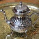 Large Moroccan Teapot - Moroccan Silver Teapot - Moroccan Mint Tea Teapot