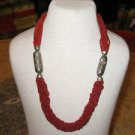 Coral Necklace - Red coral beads necklace - Coral Beads - Coral jewelry - coral