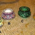Moroccan Ashtrays- Moroccan Ceramic Ashtray - Ceramic Ashtray with lid - Ashtray