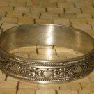 Silver Bracelet - Silver Heart Bracelet - Engraved bracelet - Berber bracelet