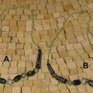 Emerald necklace - Emerald green necklace -Emerald necklace pendant - Emerald
