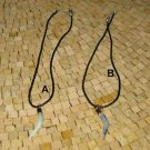 Mens horn necklace - Necklace horn - Horn necklaces - Horn pendant necklace
