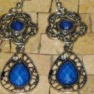 Blue earrings -Blue earrings dangle - Blue dangle earrings - Long blue earrings