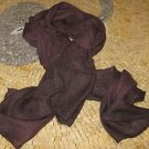 Moroccan Scarf - Unisex Truffle Scarves - Truffle Brown Scarf - Scarf in Truffle