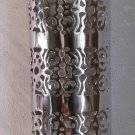 Silver Wall Sconce-Wall light sconces-Silver sconce-Moroccan wall sconce-Sconces