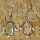 Hamsa key  Chain - Hamsa Protection Key Chain - Hamsa Hand Key Chain - Key chain
