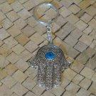 Hamsa keyring - Hamsa Hand - Hamsa Evil Eye - Hamsa Keychain - Hamsa key Holder