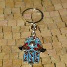 Lucky charm Hamsa -Hamsa Hand Keychain - Hamsa Evil Eye Keychain -Hamsa Keychain