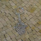 Evil eye charm keychain - Evil eye keychain - keychain - Hamsa Charm keychain