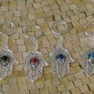 Hamsa amulet - Hamsa Hand amulet - Hamsa talisman - Khamsa protection key Holder