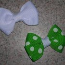 Set of 10 Baby Basic Bows - you choose colors