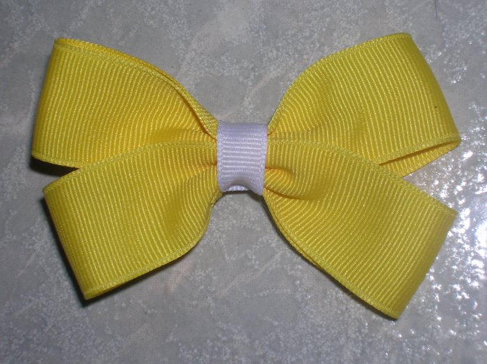 3 Inch Basic Bow - Set of 5 (You choose colors)
