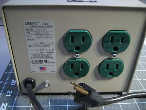ONEAC CP1105 4.6amps Power Conditioner in Excellent!!! Condition