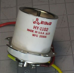 EG&G Hydrogen Thyratron Tube HY-1102 18 kV 1kA PerkinElmer