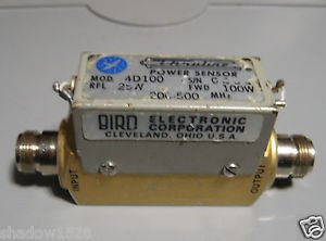 BIRD Electronic Thruline Power Sensor 4D100 100W 200-500 Mhz