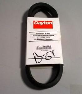 """Dayton 3X638G V Belt B51  21/32"""" x 54"""""""