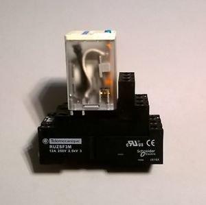Telemecanique RUZSF3M Relay DIN RAIL