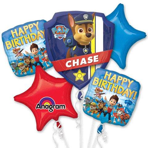 Paw Patrol Birthday Bouquet of Balloons