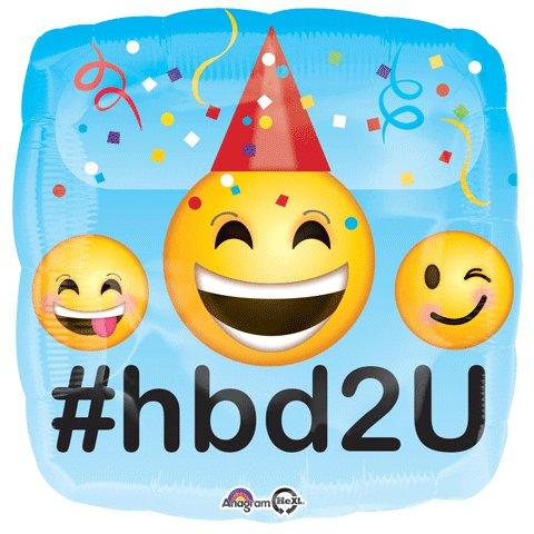 Emoji Birthday Balloon