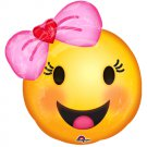 Happy Emoji with Bow Junior Shape