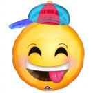 Happy Emoji with Hat Junior Shape