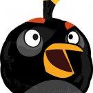 Black Angry Bird Balloon