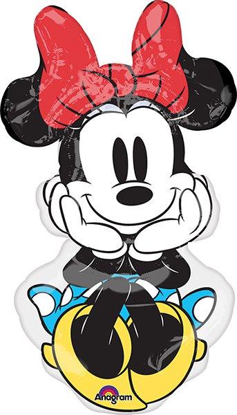Minnie Rock the Dots Super Shape